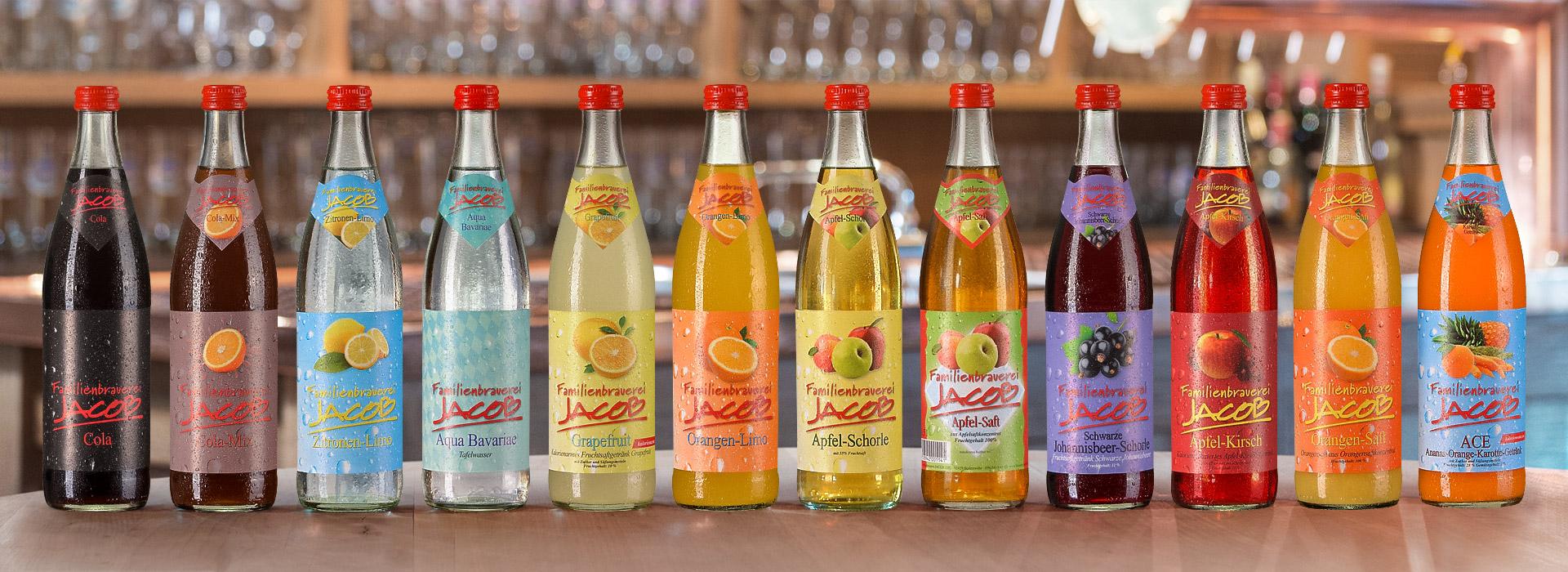 Alkoholfreie Getränke | Brauerei Jacob